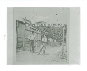 Primary view of object titled '[Culpepper's Studio]'.