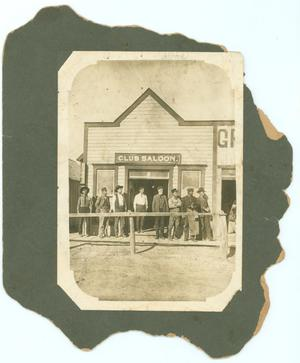 Primary view of object titled '[Longview Club Saloon]'.