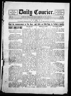 Daily Courier. (McKinney, Tex.), Vol. 4, No. 292, Ed. 1 Saturday, February 16, 1901