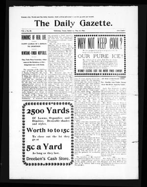 Primary view of object titled 'The Daily Gazette. (McKinney, Tex.), Vol. 1, No. 86, Ed. 1 Saturday, May 20, 1899'.