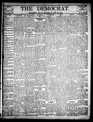 The Democrat. (McKinney, Tex.), Vol. 1, No. 38, Ed. 1 Thursday, October 23, 1884