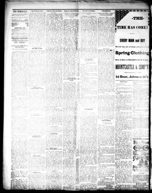 the democrat mckinney tex vol 3 no 8 ed 1 thursday march 25 1886 page 2 of 4 the portal to texas history