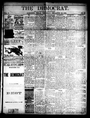 Primary view of The Democrat. (McKinney, Tex.), Vol. 5, No. 47, Ed. 1 Thursday, December 20, 1888
