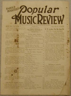 Popular Music Review
