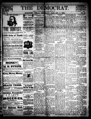 The Democrat. (McKinney, Tex.), Vol. 6, No. 50, Ed. 1 Thursday, January 9, 1890