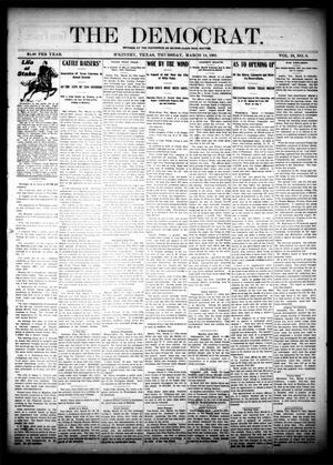 Primary view of object titled 'The Democrat. (McKinney, Tex.), Vol. 18, No. 6, Ed. 1 Thursday, March 14, 1901'.