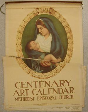 "Primary view of object titled '[""Centenary Art Calendar"" 1923]'."