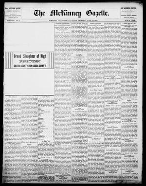 Primary view of object titled 'The McKinney Gazette. (McKinney, Tex.), Vol. 1, No. 7, Ed. 1 Thursday, June 24, 1886'.