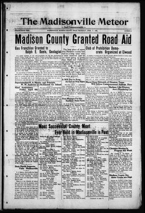The Madisonville Meteor - And Commonwealth - (Madisonville, Tex.), Vol. 35, No. 2, Ed. 1 Thursday, April 5, 1928