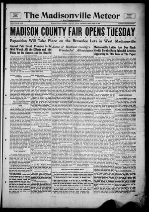 The Madisonville Meteor - And Commonwealth - (Madisonville, Tex.), Vol. 35, No. 27, Ed. 1 Thursday, September 27, 1928