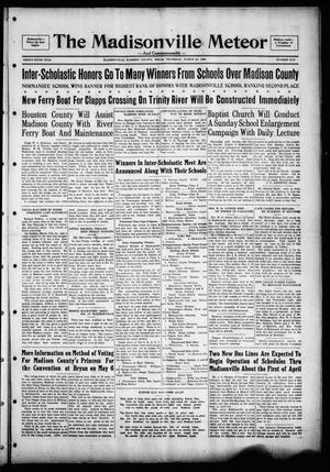 The Madisonville Meteor - And Commonwealth - (Madisonville, Tex.), Vol. 36, No. 1, Ed. 1 Thursday, March 28, 1929