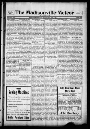 The Madisonville Meteor - And Commonwealth - (Madisonville, Tex.), Vol. 36, No. 3, Ed. 1 Thursday, April 11, 1929