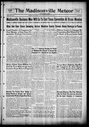 The Madisonville Meteor - And Commonwealth - (Madisonville, Tex.), Vol. 36, No. 6, Ed. 1 Thursday, May 2, 1929