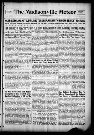 The Madisonville Meteor - And Commonwealth - (Madisonville, Tex.), Vol. 36, No. 8, Ed. 1 Thursday, May 16, 1929