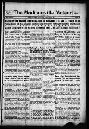 The Madisonville Meteor - And Commonwealth - (Madisonville, Tex.), Vol. 36, No. 10, Ed. 1 Thursday, May 30, 1929