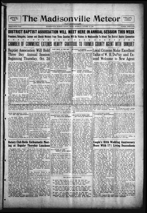 The Madisonville Meteor - And Commonwealth - (Madisonville, Tex.), Vol. 36, No. 31, Ed. 1 Thursday, October 24, 1929