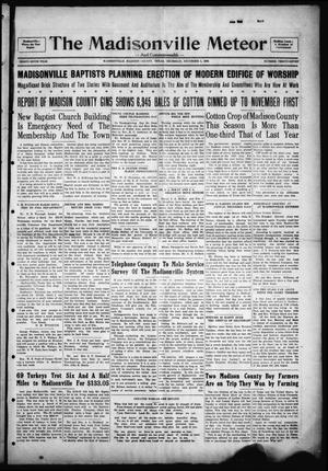 The Madisonville Meteor - And Commonwealth - (Madisonville, Tex.), Vol. 36, No. 37, Ed. 1 Thursday, December 5, 1929