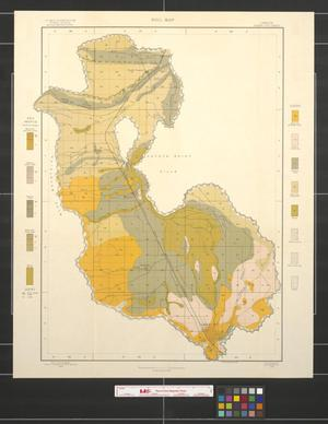 Primary view of object titled 'Soil map, Oregon, Baker City sheet'.