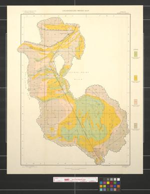 Primary view of object titled 'Underground Water map, Oregon, Baker City sheet'.