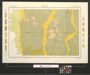 Primary view of object titled 'Soil map, Mississippi, Mc Neill sheet'.