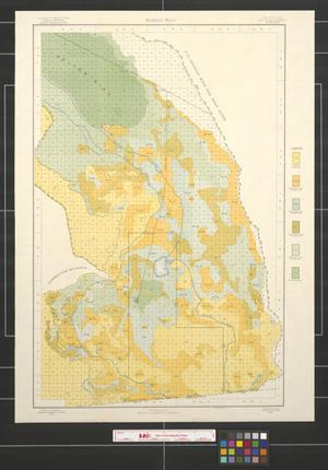 Primary view of object titled 'Alkali map, California, Imperial sheet (second survey).'.