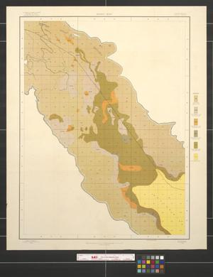 Primary view of object titled 'Alkali map, California, Indio sheet.'.