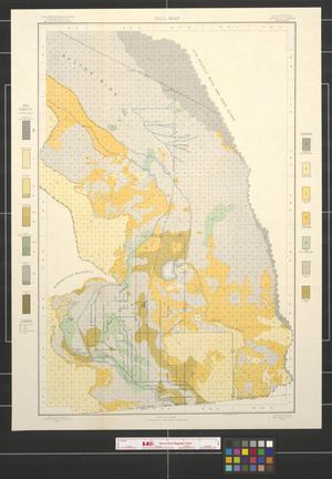 Primary view of object titled 'Soil map, California, Imperial sheet (second survey)'.