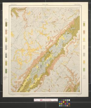 Primary view of object titled 'Soil map, Tennessee, Pikeville sheet.'.