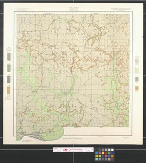 Primary view of object titled 'Soil map, Illinois, Johnson County'.