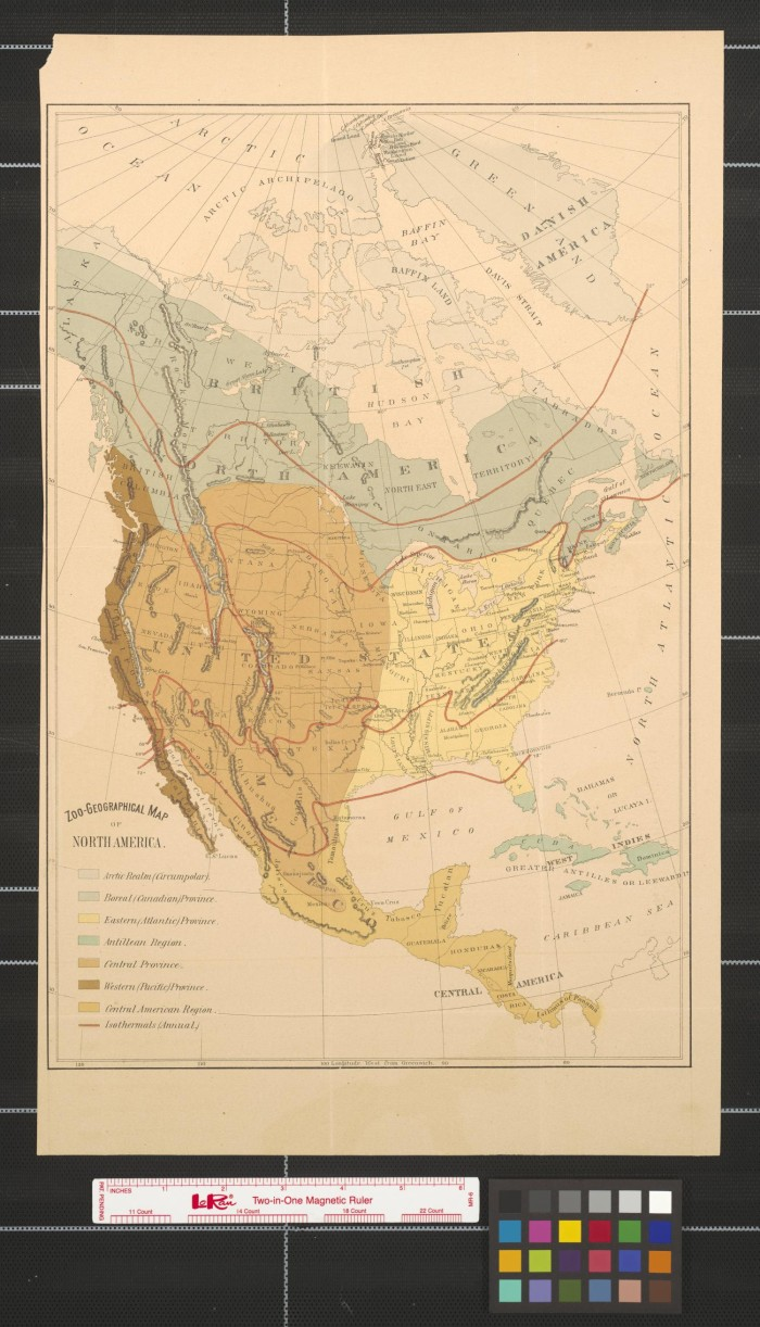 Geographical Map Of Texas.Zoo Geographical Map Of North America The Portal To Texas History