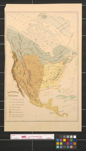 Primary view of object titled 'Zoo-geographical map of North America.'.