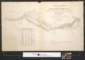 Primary view of object titled 'Topographical map of the road from Missouri to Oregon [Sheet 1]'.
