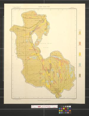 Primary view of object titled 'Black Alkali map, Oregon, Baker City sheet'.
