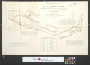 Primary view of object titled 'Topographical map of the road from Missouri to Oregon : commencing at the mouth of the Kansas in the Missouri River and ending at the mouth of the Wallah Wallah in the Columbia [Sheet 5].'.