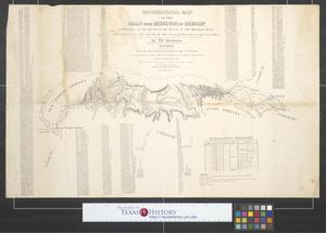 Primary view of object titled 'Topographical map of the road from Missouri to Oregon : commencing at the mouth of the Kansas in the Missouri River and ending at the mouth of the Wallah Wallah in the Columbia [Sheet 6].'.