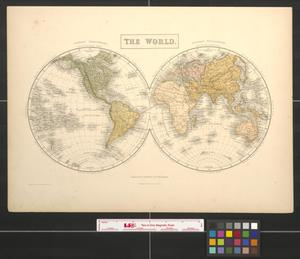 Primary view of object titled 'The world.'.