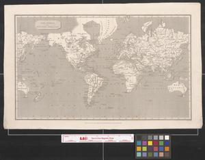 Primary view of object titled 'The World on Mercator's Projection.'.