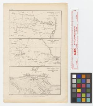 Primary view of object titled '[Northern Mexico Invasion by the American Army, 1845, Central Mexico Invasion by the American Army, 1846, and Siege of Vera Cruz by the American Army, 1846]'.
