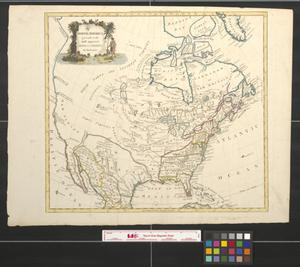 Primary view of North America, agreeable to the most approved maps and charts.