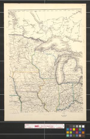 Primary view of object titled 'United States of North America: Eastern & Central [Sheet 2]'.