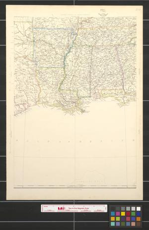 Primary view of object titled 'United States of North America: Eastern & Central [Sheet 5]'.