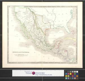 Primary view of object titled 'Mexico and Guatimala.'.