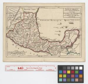 Primary view of Partie du Mexique ou de la Nouvelle Espagne.