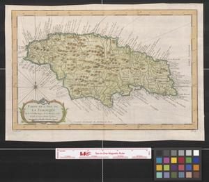 Primary view of Carte de l'isle de la Jamaique.