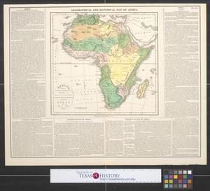 Primary view of object titled 'Africa : Drawn from the best authorities for the illustration of Lavoisne's genealogical, historical  chronological & geographical atlas'.