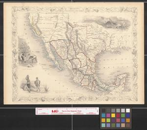 Primary view of object titled 'Mexico, California and Texas'.