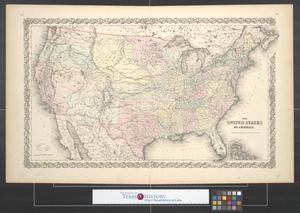 Primary view of object titled 'The United States of America.'.