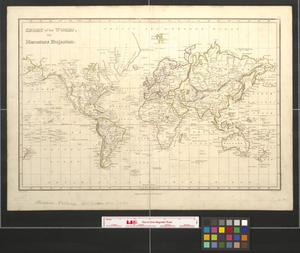 Primary view of object titled 'Chart of the world on Mercator's projection.'.