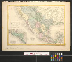 Primary view of object titled 'Mexico, California & Texas.'.