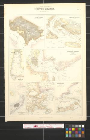 Primary view of object titled 'Southern ports & harbours in the United States.'.